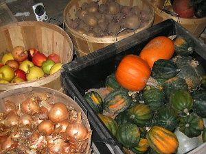 Хранение фруктов в погребе