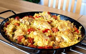 Как приготовить паэлью с курицей