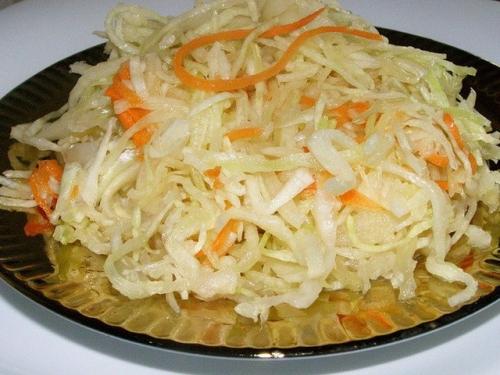 Рецепт вкусной квашеной капусты