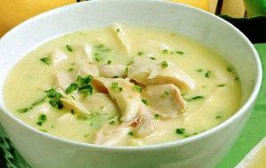 Куриный суп по-индийски