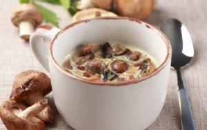 Рецепт супа из опят