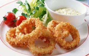 Рецепт кальмаров в кляре