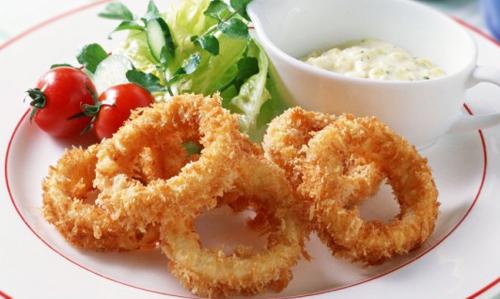 рецепты из кальмаров с фото