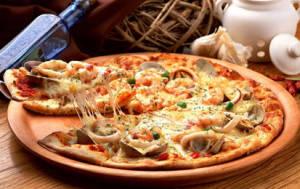 Хрустящее тесто для пиццы