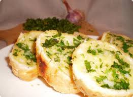 Чесночный хлеб (garlic bread)
