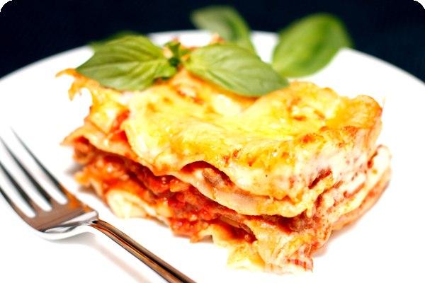 Другой рецепт мясной лазаньи