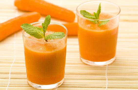 Оранжевый смузи