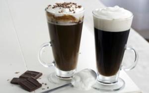 Холодный ирландский кофе