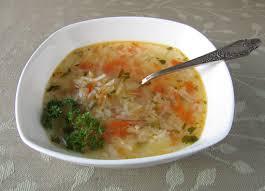 Рис в бульоне с овощами