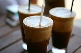 Воздушный ледяной кофе