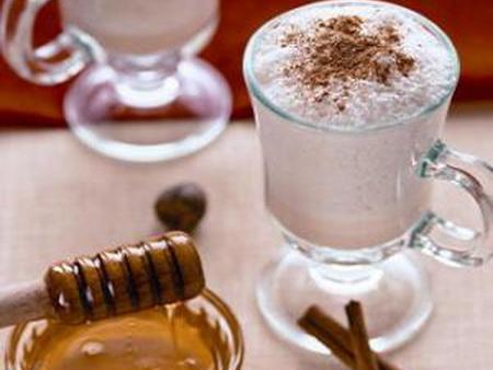 Медовый грог с молоком