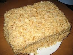 Традиционный торт «Наполеон»