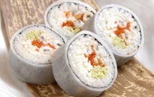 Рис для суши с уксусной смесью