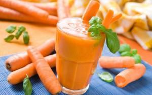 Смузи цитрусовый с морковью