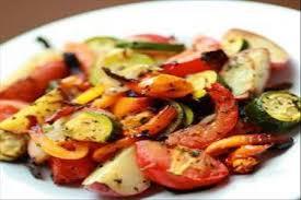 Печеные овощи по‑простому