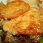 Мясо по‑французски с сыром