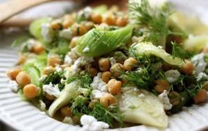 Салат из лука-порея