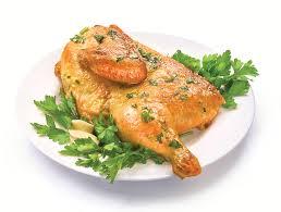 Цыпленок табака с топленым маслом