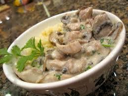 Постный грибной соус к макаронам