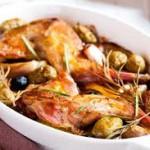 Блюдо выходного дня: кролик с грибами в сливочном соусе