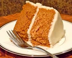 Тыквенный пирог с лимонной глазурью