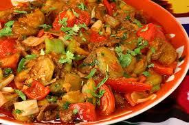 Тушеные овощи – рецепт гарнира