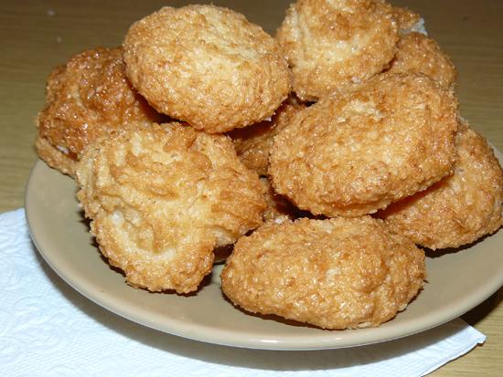 Кокосовые печенья
