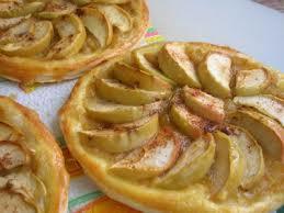 Французская яблочная ватрушка