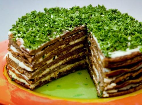 Торт печеночный «Праздничный»