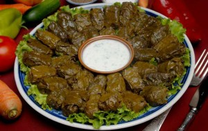 Долма. Азербайджанская кухня.