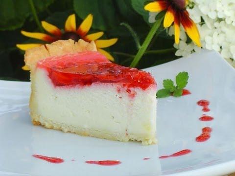 Торт с клубничным суфле
