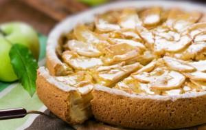 Аппетитный пирог с грушей
