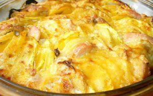 Куриное филе запеченое с овощами и сыром.