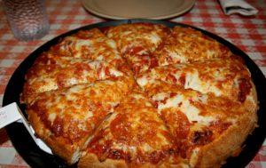 Быстрая пицца на сковороде (рецепт)