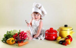 Сбалансированный рацион для ребёнка