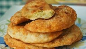Чебуреки с картофелем и сыром