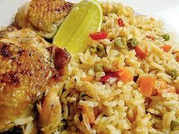 Рис с курицей.