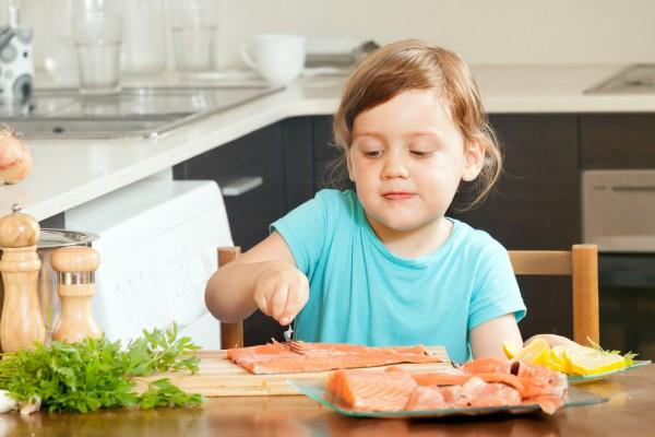 Рыбные блюда в детском рационе