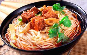 Как приготовить китайскую лапшу с курицей