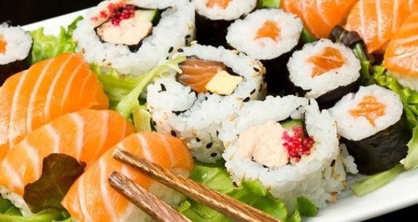 Суши. Основные виды суши