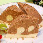 Интересный творожный десерт