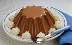Шоколадное желе.