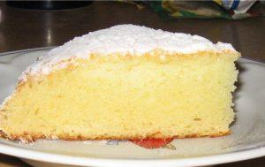 Кекс «Снежинка»