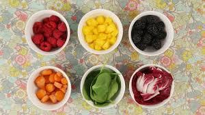 Натуральные красители из ягод и овощей
