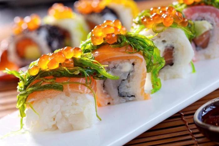 Доставка суши и роллы на дом