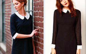 Платья с воротником — немного о дизайне