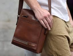 Правила выбора удачной мужской сумки