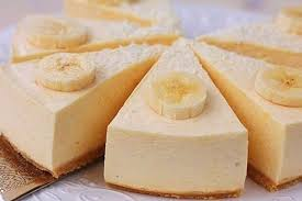 Банановая запеканка с йогуртом.