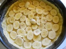 Очень нежный пирог с бананами
