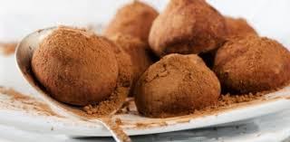 Шоколадно-кофейные трюфели.